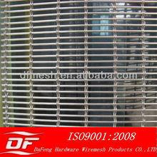 decorative wire mesh ,aluminum curtain mesh ,aluminum alloy metal curtain mesh