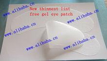 New HOT,Tinnest lint free gel eye patch for Eyelash extension, 1 pair/bag, Paypal