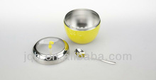 18/8 stainless steel color apple shape spice can