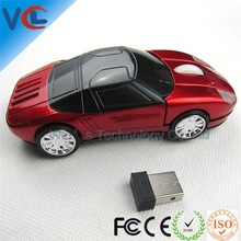 High Resolution Wireless Fashion car mouse