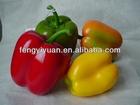 2014 new design colorful artificial foam simulation chili pepper & vegetables