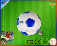 Factory Promotion 2.4g Wireless Football Mouse 2.4g mouse for the World Cup Gift with Novelty Gift Box