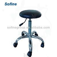 Height Adjustable Laboratory Stool ,Metal Laboratory Stool Furniture