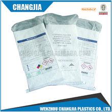 50kg White polypropylene laminated woven polypropylene bags for feed