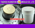 18L plastic injection oil bucket mould with spout and spout cover