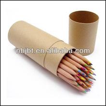 Hot sale natual promotion wood pencil,jumbo color pencil,wood color pencil set