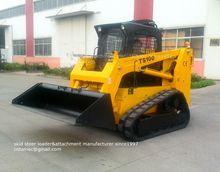 rubber tracks, crawler-type TS100 skid steer loader,100hp, 1200kgs