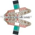 Relieve táctil interruptor de membrana