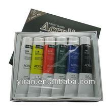 No Impurities Acrylic Colour Set 6/Acrylic Paint/Marking Paint/Acrylic Color Paint Set