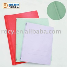 Hot sale Paper File Folder with Plastic Clip
