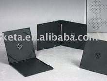 5.2mm Super Slim Single Black CD VCD DVD PP Case