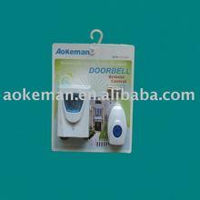 AOKEMAN wireless remote control doorbell intelligent chime 36 music battery model