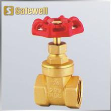Brass stem gate valve, gate valve, Stem gate valve
