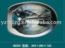Oxidised aluminium parabolic reflector light