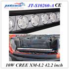 Juntu 42.2 inch CREE led chip 260w 12v car led light bar for land cruiser,suv