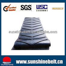 chevron conveyor belt for industrial
