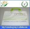 white colour PE material plastic handbag