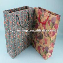 hot sale art kraft paper bag