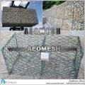 Aeomesh hexagonal galvanizado recubierto de pvc alambre de gaviones caja de malla para la venta de piedra de la cesta de gaviones de contención de los precios de cantón de calidad- mp