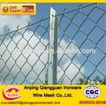Verzinkte kette link zaun( iso9001- 2008 zertifiziert, 20 jahre ab werk)