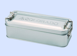 2014 factory two layers and newly design fasionable pen case,empty for packaging,rectangular shape, pencil tin box