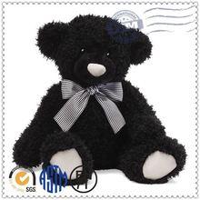 Custom plush toy, china plush toy animals, big black bear