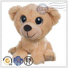 Custom plush toy, china plush toy animals, big eyes bear