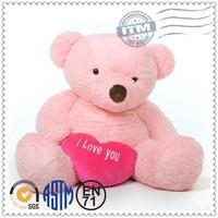 Cute OEM Wholesale Pink Plush Toy, Cuddly Small Bear Plush Toys, plush pink teddy bear