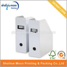 high quality and cheap price folding cardboard file box