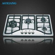 Built-in SST 4 Ring Wok Burner Gas Hobs/ Gas Stoves/ Gas Cooking Range XLX-824S-1