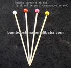 dyed ball pick/stick/skewer