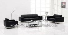 Genuine Leather Recliner Luxury Sofa Set
