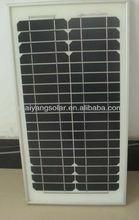 25w monocrystalline solar panel with CE