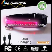 2013 new products flashing led dog collars covers makers