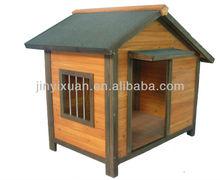 A-frame Wood Dog Kennel with Asphalt Roof / Pet House