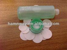 eva foam cap seal liner for scrubbing solution
