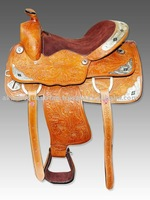 Western Saddle Silver