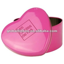 Chocolate tin box Chocolate case heart-shaped tin can packaging boxes