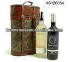 100% handmade vintage style wood wine box lock