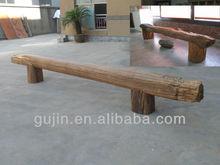 Vintage Reclaimed Wood Furniture Bench