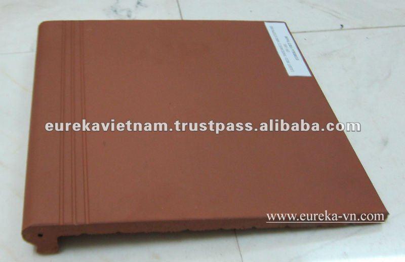 Step-nose Terracotta Tiles, View terracotta tile, Eureka Product