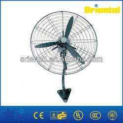 Industrial wall mount outdoor fan