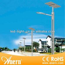 Enviroment friendly 120W solar street light accessory (solar panel, battery, controller, pole,etc)