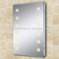 LOW energy LED home goods framless shower mirror IP44