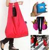 nylon classic full color foldable big bag environmental protection shopping bag gift bag promotion guangzhou factory