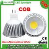 COB MR16 LED light 5W with high CRI