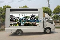 YEESO YES-V6 Outdoor Mobile Advertising Digital Media Trucks, Video Advertising Truck for Sale