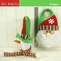 pulgadas 12 santa muñeco de nieve y colgando de la puerta de la puerta para la decoración de navidad 2014 dropshippping