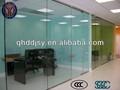 Cloison de verre/cloison de verre clair/cloison de bureau en verre mur