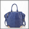 China factory price classic genuine leather woman handbag with zipper